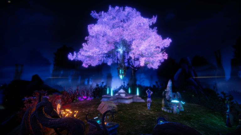 Elven Love night environment