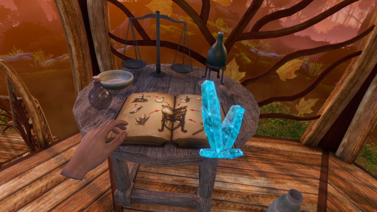Elven Love VR game puzzle